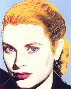 [Andy Warhol Grace Kelly]