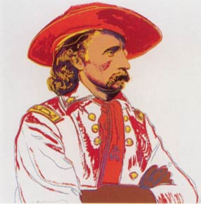 [Andy Warhol - General Custer]