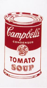 [Andy Warhol - Campbell's Soup Can (TOMATO)]