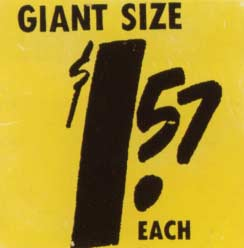 [Andy Warhol $1.57 Giant Size]