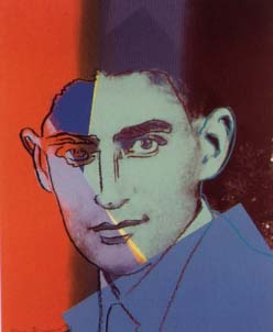 [Andy Warhol Ten Portraits of Jews of The Twentieth Century - Franz Kafka]