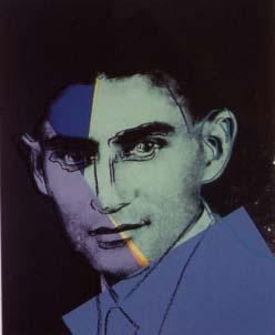 [Andy Warhol Ten Portraits of Jews of The Twentieth Century - Franz Kafka]