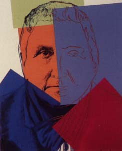 [Andy Warhol Ten Portraits of Jews of The Twentieth Century - Gertrude  Stein]