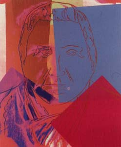 [Andy Warhol Ten Portraits of Jews of The Twentieth Century - Gertrude  Stein]