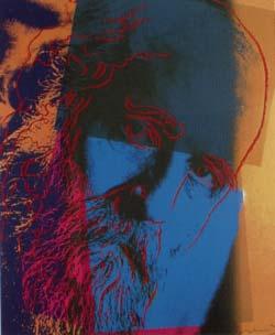 [Andy Warhol Ten Portraits of Jews of The Twentieth Century - Martin Buber]