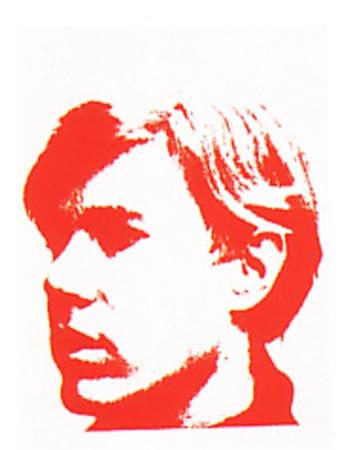 [Andy Warhol Self-Portrait]